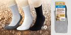 Medic Deo Cotton Zdrowotne skarpetki frotte rozmiar 35-37 czarne