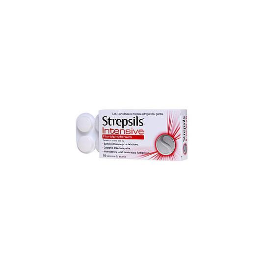 Strepsils Intensive 16 tabletek do ssania
