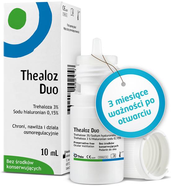e1d64cacc09414 Thealoz Duo krople do oczu bez konserwantów 10ml: ulotka, cena i ...